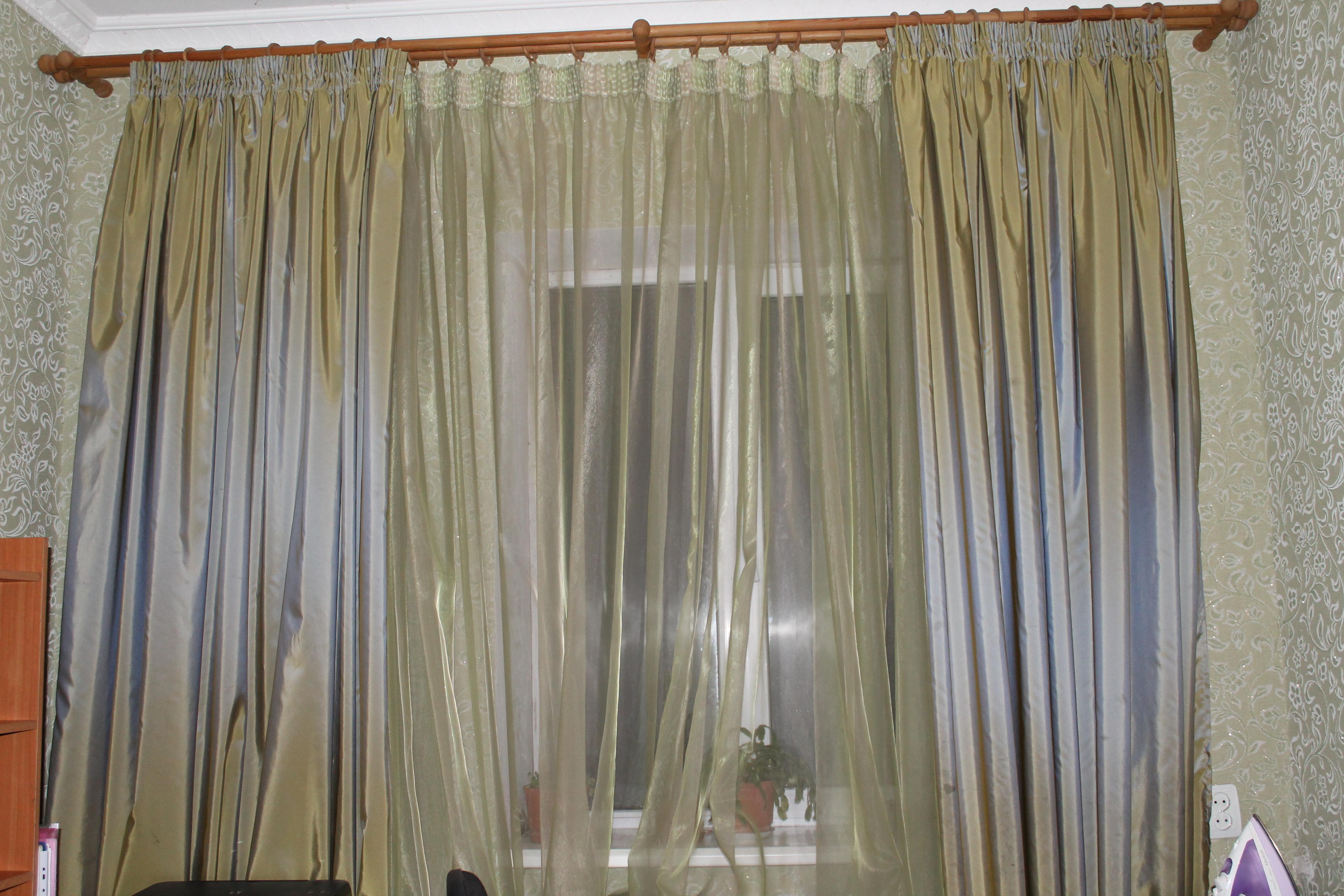 Дизайн гардин шторы
