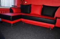 Мягкий уголок, диван кожзам практически новый